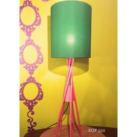 Table Lamp - wooden legs design