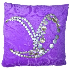 VAZA Handmade Cushion - Abstract design
