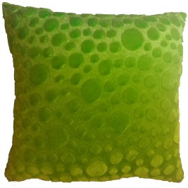 Soft colorful modern cushion - green
