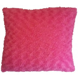Soft colorful modern cushion - fuchsia 3