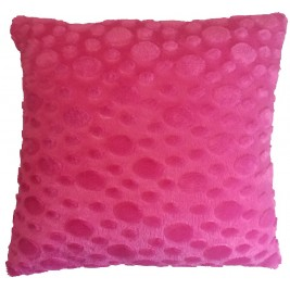 Soft colorful modern cushion - fuchsia 2