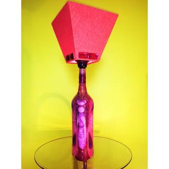 Table Lamp - Butterfly design- handmade