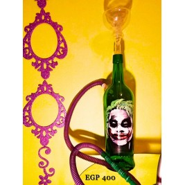 Bottle Hookah - Joker Design