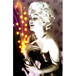 Marilyn Monroe LED Canvas Wall Painting