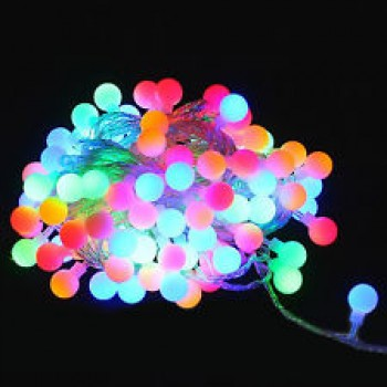 RGB LED Decorative String Light Balls (Small)
