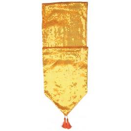 Sequins Table Runner - Golden