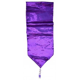 sequins Table Runner - Purple