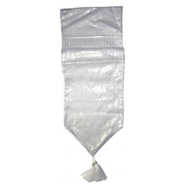 sequins Table Runner - Silver