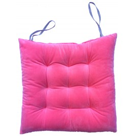 Soft Velvet Chair Cushion