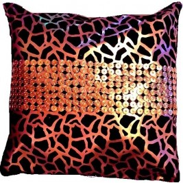 VAZA Handmade Golden Cushion