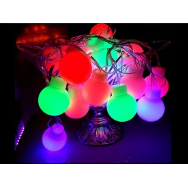 RGB LED Decorative String Light Balls (Big)