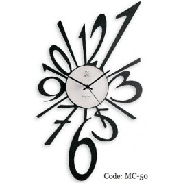 Modern Wall Clock - large numbers design