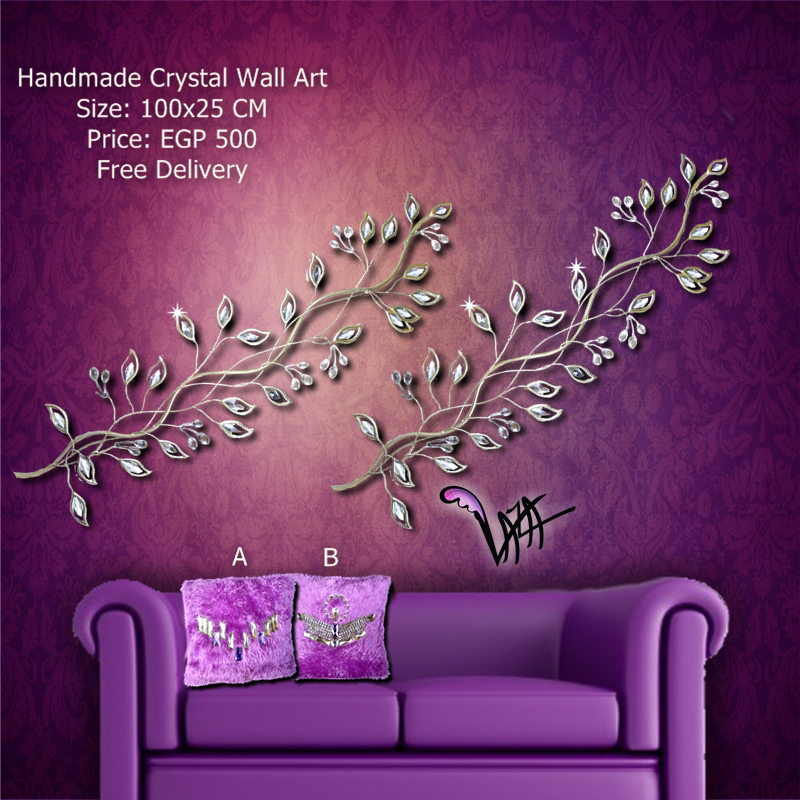 Wall Decor With Crystal : Love wall art with crystals imgkid the image